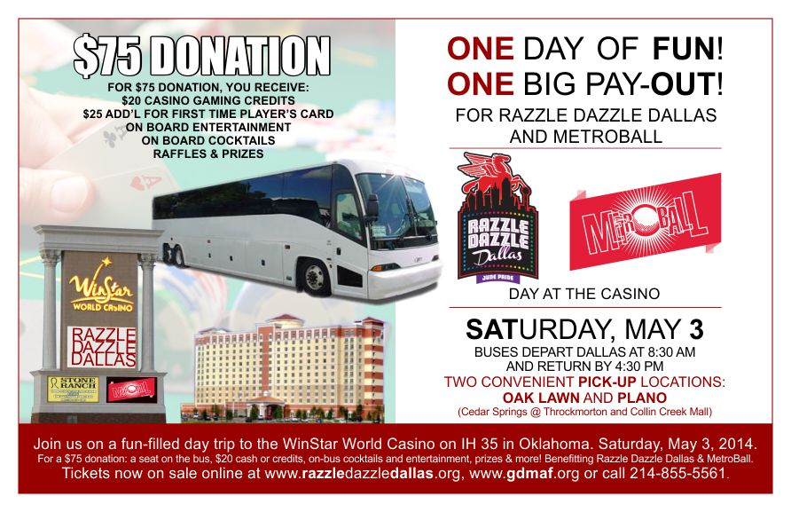 one day casino bus trips ohio