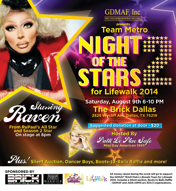 Night of Stars benefiting LifeWalk Team Metro