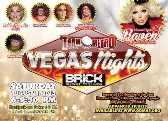 Vegas Nights raises over $4000