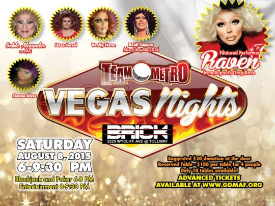 Team Metro Vegas Nights - 08/08/2015