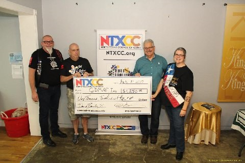 NTXCC donates $1250 to GDMAF