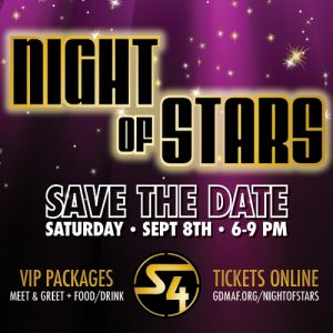 2018 Night of Stars - Sept. 8th - SAVE THE DATE!
