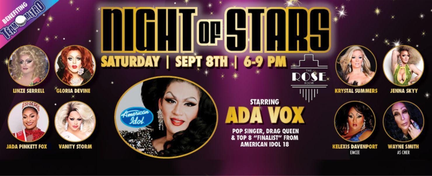 Night of Stars – Sept. 8