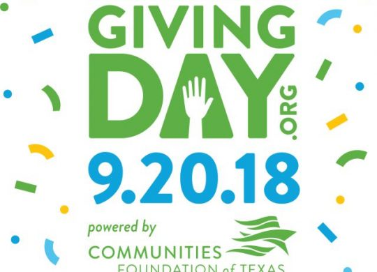 North Texas Giving Day 2018 – Sept. 20