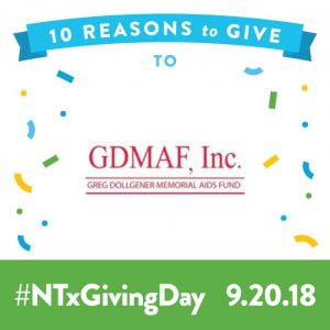 Giving Day 2018 - Sept. 20
