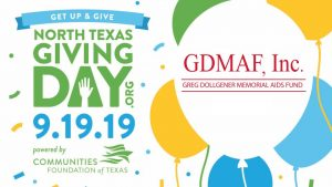 North Texas Giving Day Benefiting GDMAF 09-19-19