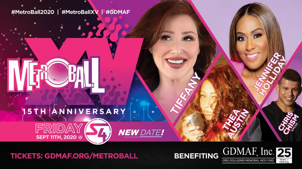 MetroBall XV announces Entertainers and Ticket / VIP options