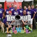 Team Metro LifeWalk 2020 - Thank You