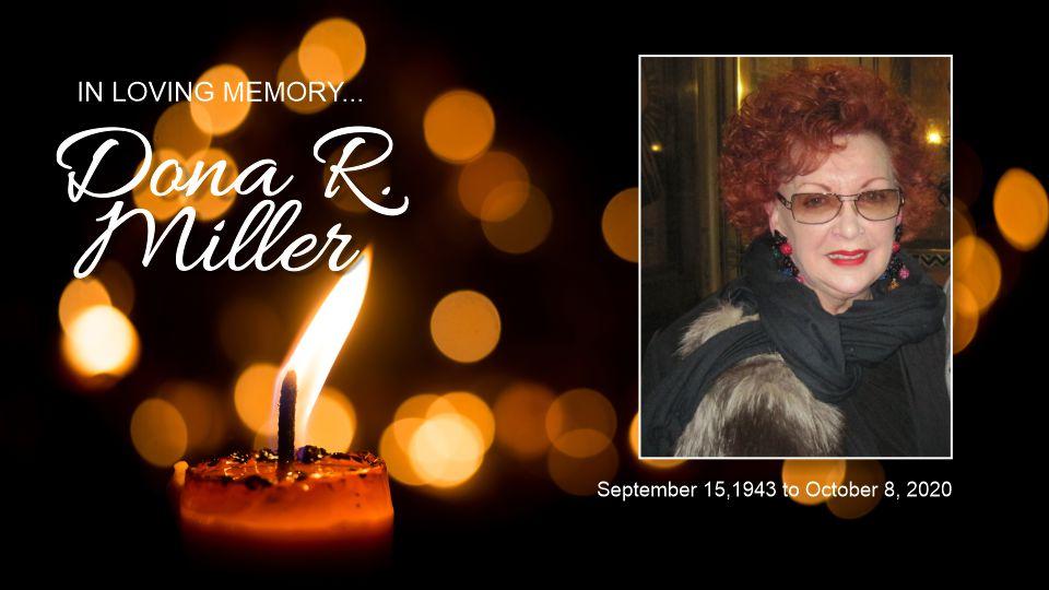 In Memory - Dona R Miller