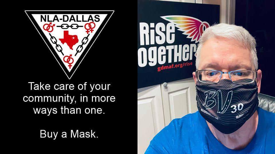 NLA Dallas Masks