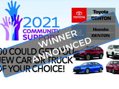 Toyota Honda Giveaway
