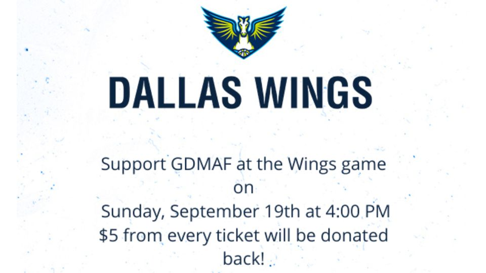 Dallas Wings supports GDMAF